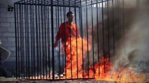 Jordanian pilot execution